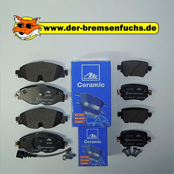 Bremsenpaket ATE Ceramic VW Caddy